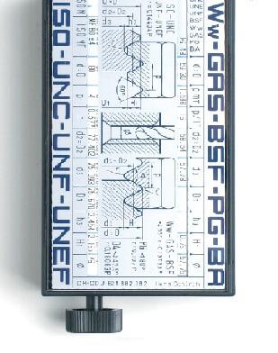 Rotationstabelle-Filetor-Tolerator-Convertor zur Gewindebestimmung