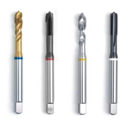 Farbring Maschinengewindebohrer und ihre Unterschiede: Blauring, Rotring, Gelbring und Weissring Maschinengewindebohrer