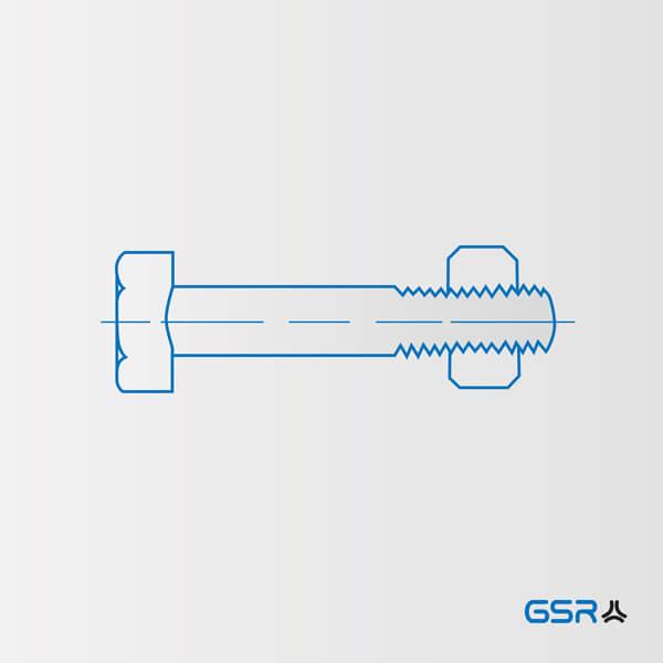 Technische Zeichnung einer Schraube: 3 größten Schwachstellen von Schraubenverbindungen