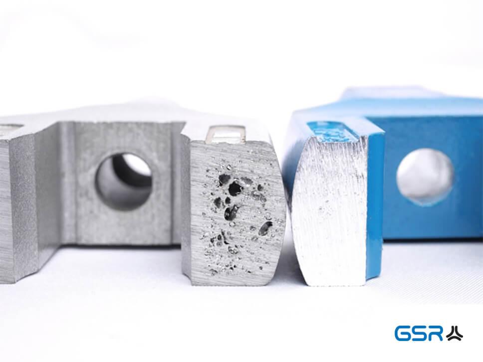 GSR Silver Haltewerkezuge Windeisen in Blau und Silber mit Lunker